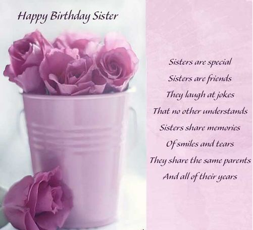 Best happy birthday to my sister quotes studentschillout