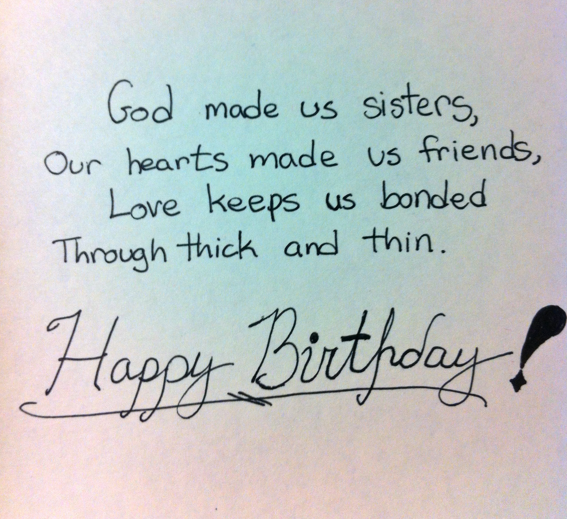 Quotes About Birthday Of Sister : Best birthday wishes for a sister studentschillout