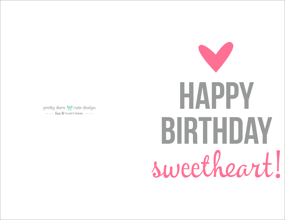 Happy Birthday Printable Cards Free Gangcraft Net
