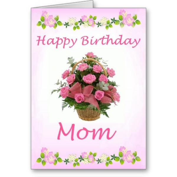 Hilaire image regarding happy birthday mom printable cards